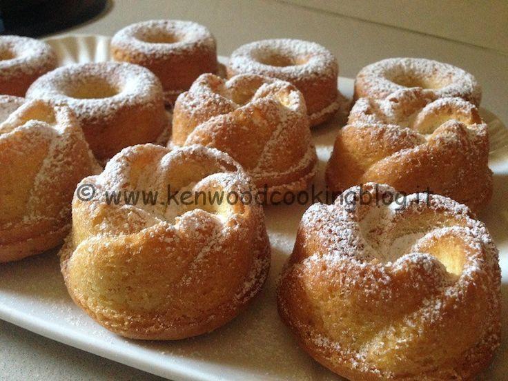 Ricetta mini pandorini muffin al limone Kenwood