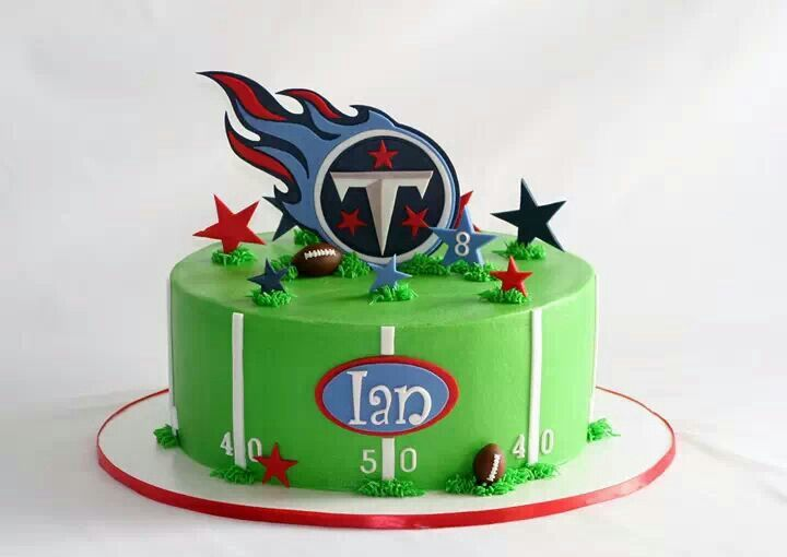 Tennessee Titans Cake Topper