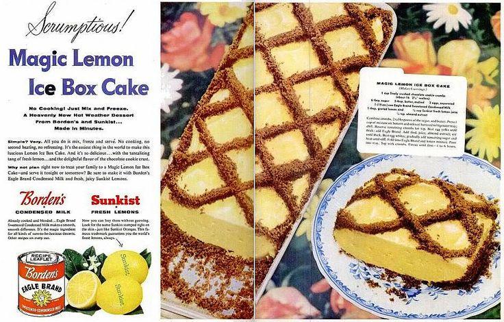 Eagle Brand Cake Icing Recipes