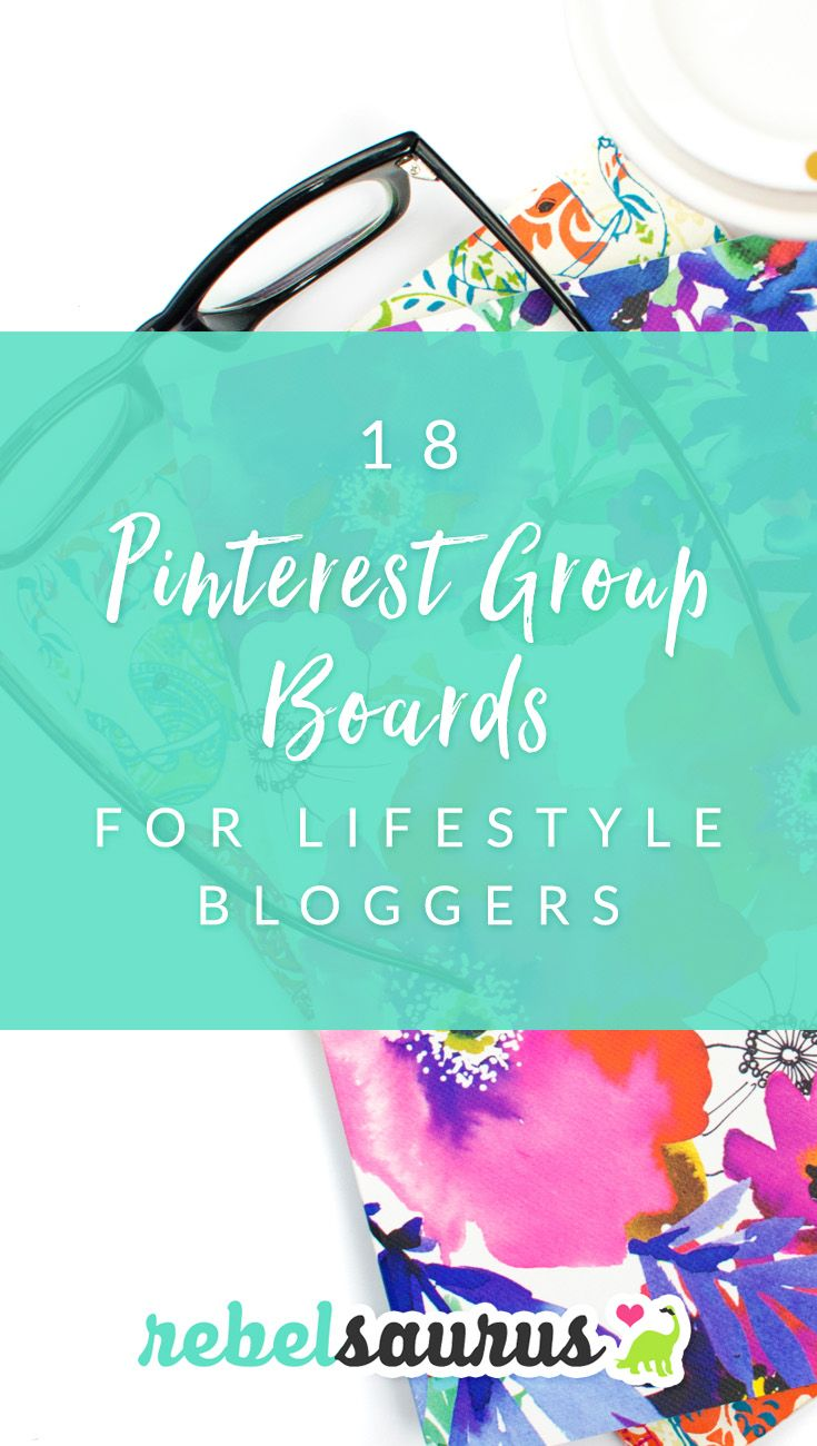 Pinterest can be a great social media platform for driving traffic to your blog, and group boards are one way to do that. Here are 18 Pinterest group boards for lifestyle bloggers in a variety of niches, like food, saving money, organizing, fashion, lifestyle, and more.