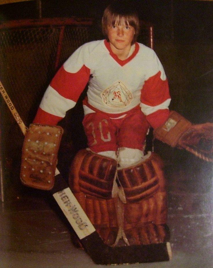 A young Patrick Roy   Montreal Canadiens   Colorado Avalanche   NHL   Hockey - #Habs  #Hockey