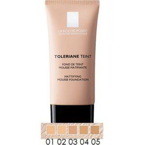 La RochePosay Toleriane Teint Mattifying Mousse Foundation 01 165 fl oz -- Check out this great product. (Note:Amazon affiliate link)