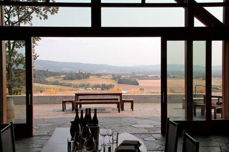 Wine Tasting room at Penner-Ash