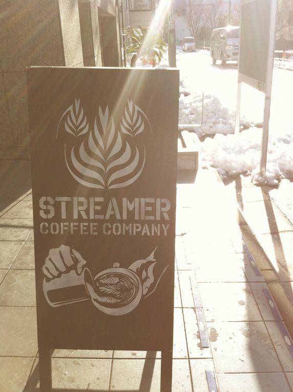 STREAMER COFFEE COMPANY signboard