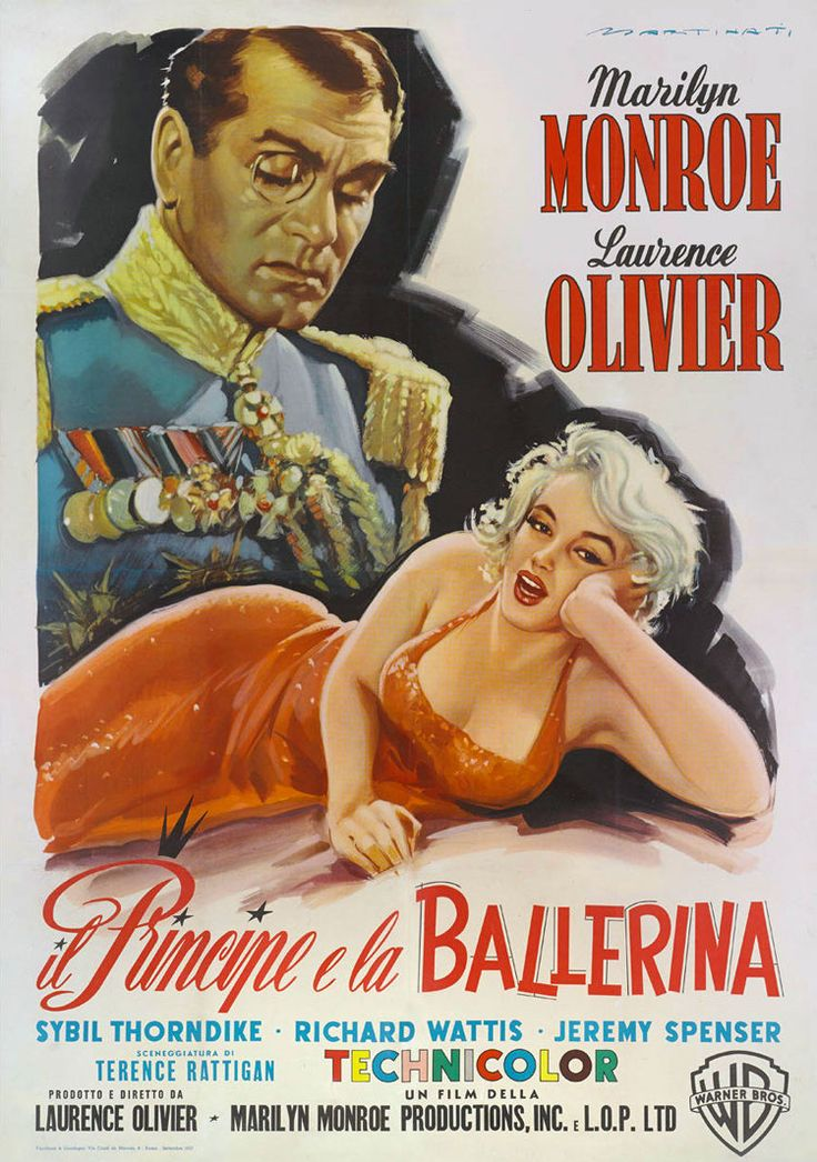 Citazione dal film ''Il principe e la ballerina'' di Elsie Marina