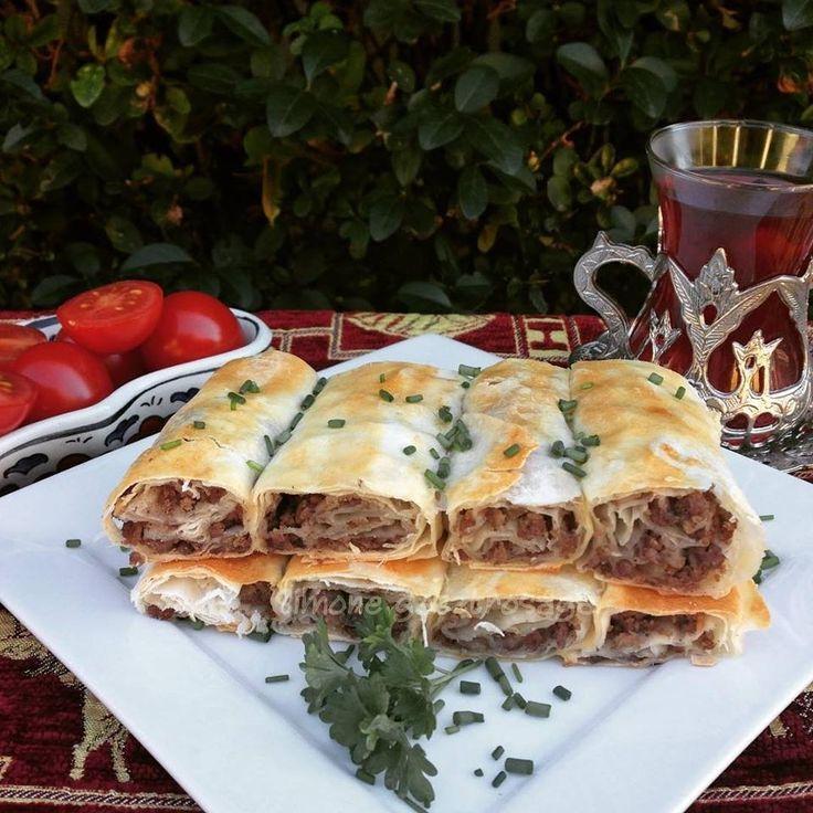 Börek marhahússal | Simone gasztroságai