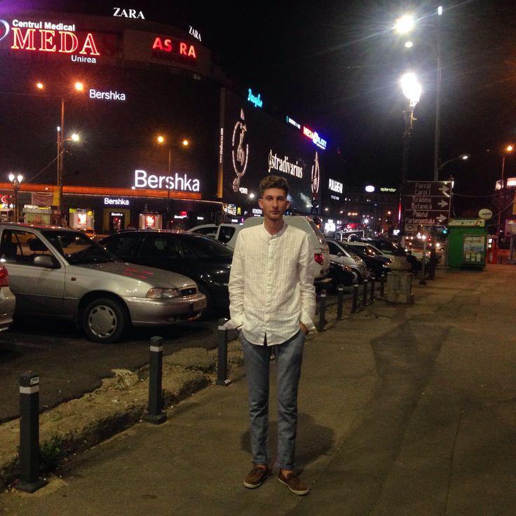 Night out in Bucharest! Fashion, zara, timberland, muse