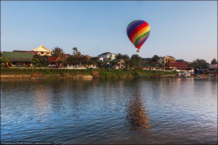 Воздушные шары Ванг Вьенга - Новогодний Лаос - 2014 - Фото галерея - Форум путешественников MB-WORLD.RU