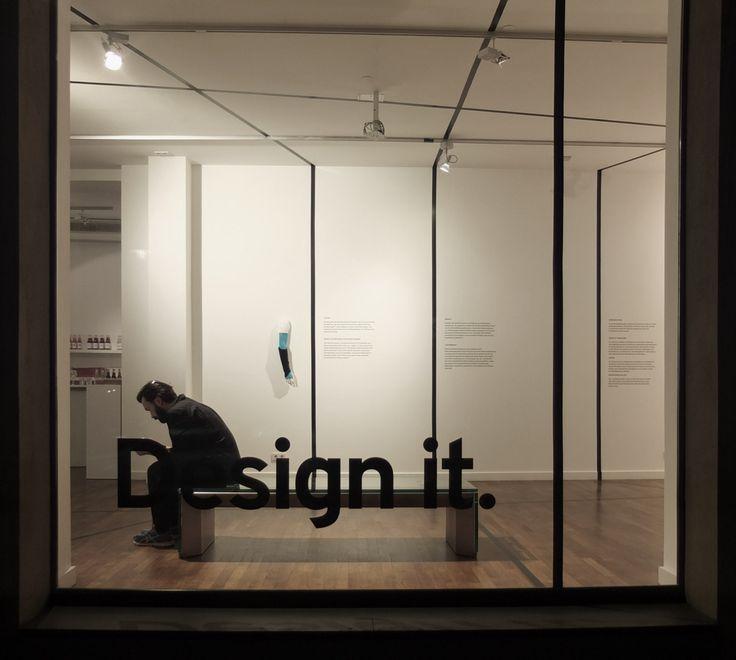 We design exhibitions