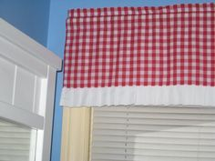 LINED GINGHAM CHECKED With white Trim 1 1/2 1/4 1/8 by creation3s