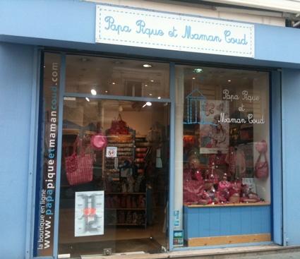 Boutique Papa Pique et Maman Coud de Paris 6ème arrondissement (75006 ) - magasin PPMC Paris