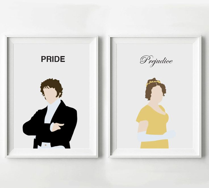 Pride and Prejudice Poster Set Mr. Darcy and Elizabeth Bennet - Movie Print, Digital Art Print, Minimalist Poster by POSTERED on Etsy https://www.etsy.com/listing/175965784/pride-and-prejudice-poster-set-mr-darcy