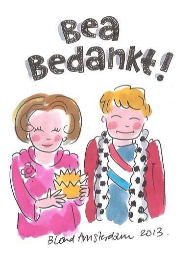 Blond Amsterdam, geheel in eigen stijl. :) #Beatrix