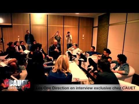 Les One Direction en interview exclusive chez CAUET - NMA 2013 - C'Cauet sur NRJ