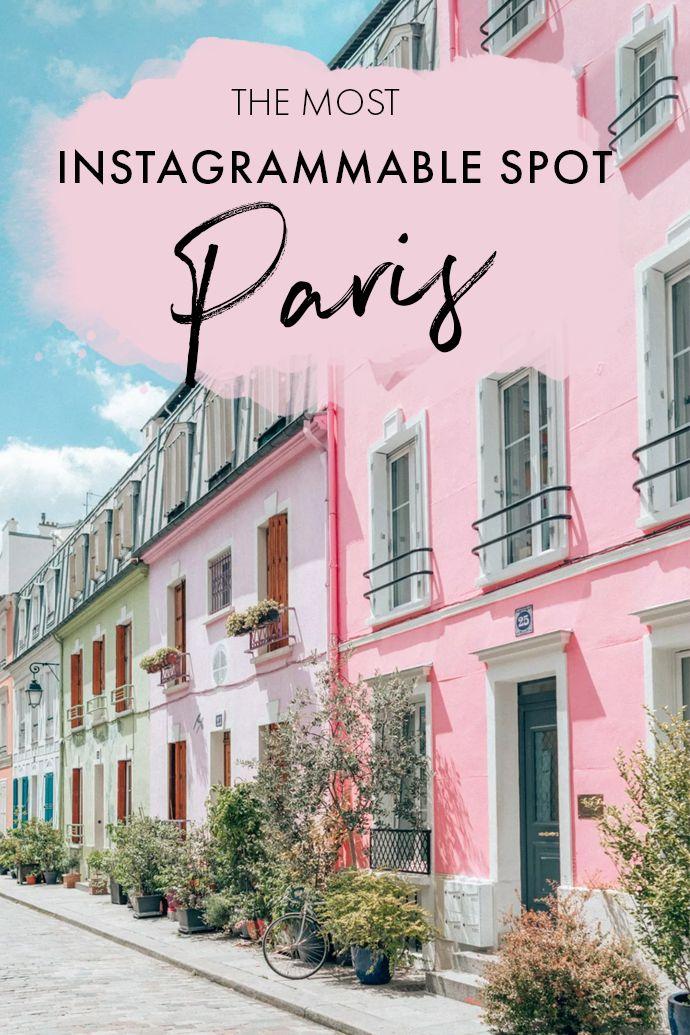 Rue Crémieux – The Most Instagrammable Street in Paris