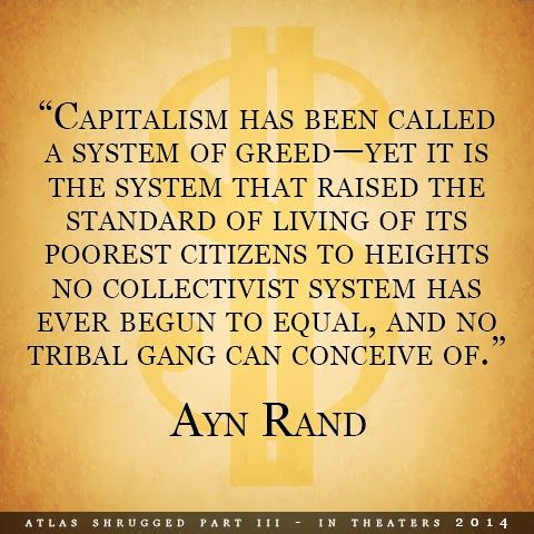 It IS a system of greed. Just look at what the 1% have achieved!!  Money is the ultimate weapon of slavery. We're heading back to the standard of living capitalists supposedly saved us from! Oh the irony!!