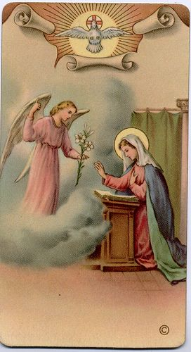 THE ANNUNCIATION OF THE LORD: BVM by Orchard Lake, via Flickr
