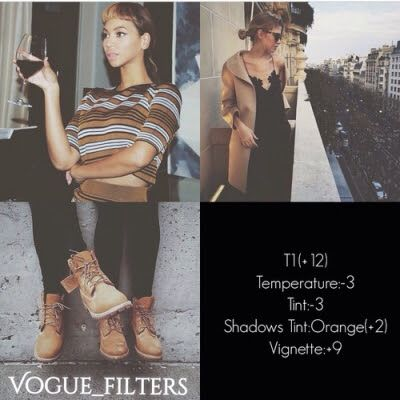โทนมืดๆ ฟุ้งๆ น้ำตาล Dark เท่ห์ๆ ปรับ vscocam filter   Filter VSCO cam = T1