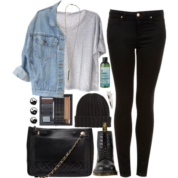 ♡ Clothes Casual Outfit for • teens • movies • girls • women •. summer • fall • spring • winter • outfit ideas • dates • school • parties Polyvore :) Catalina Christiano