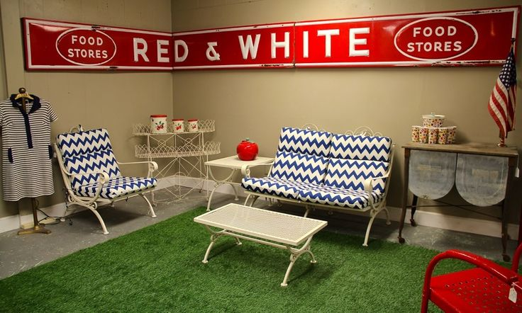 Red And White Food Store