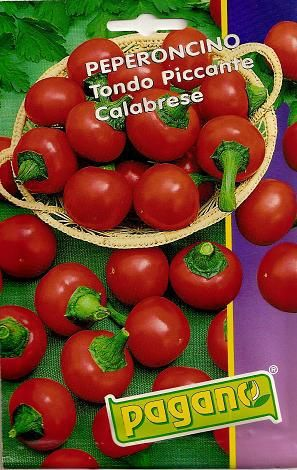 Peperoncino Piccante Calabrese-Chili Pepper Seeds-1 mg