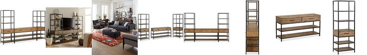 Gatlin Entertainment 3-Pc. Wall Unit (TV Stand & 2 Piers), Only at Macy's