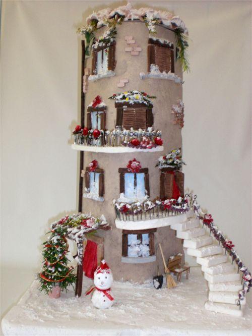 Tegola decorata Natale