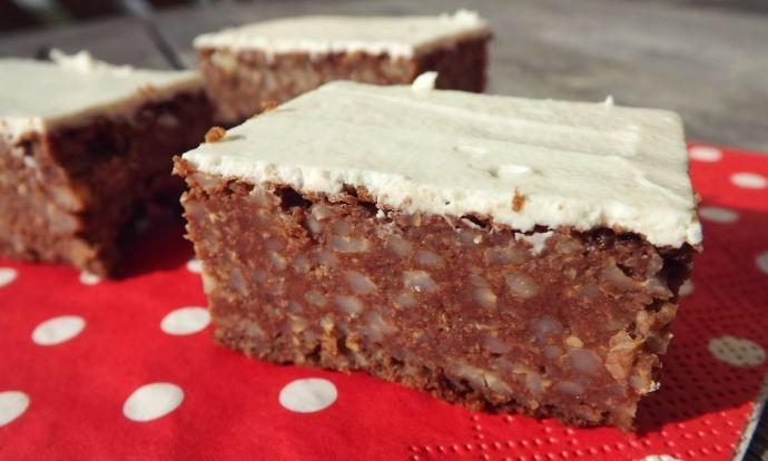 Jáhlový koláč bez mouky