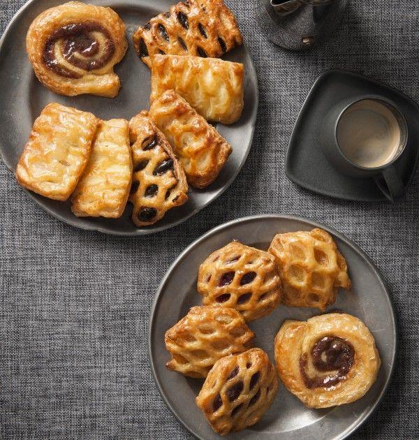 Petite Danish Pastries