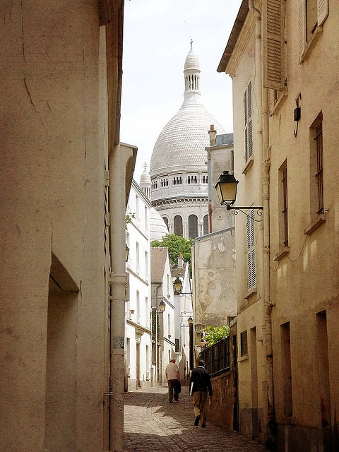 Sacre Cour...oh my..this is exactly how it looked when we found it <3