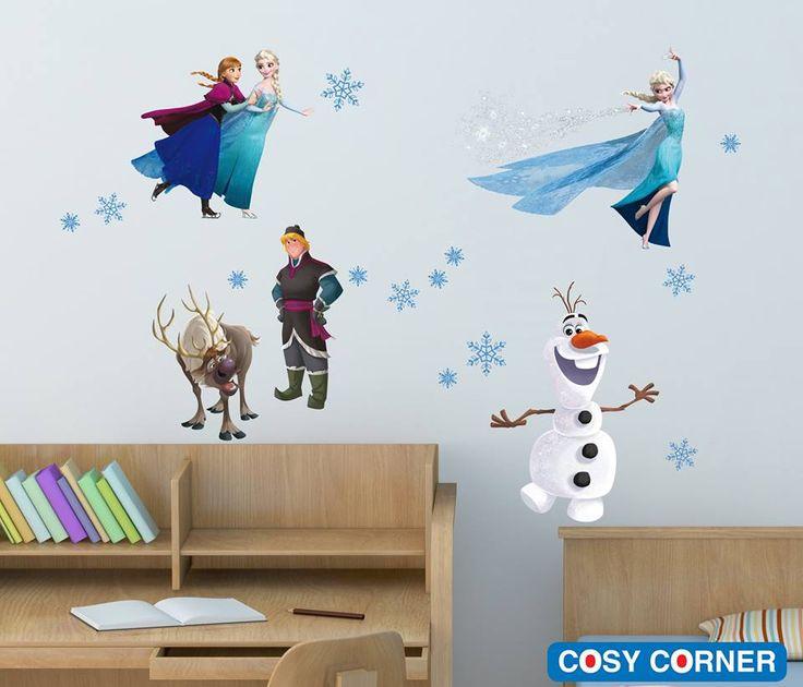 Frozen Disney Αυτοκόλλητα Τοίχου - Ταξιδέψτε μαζί με την Άννα, την Έλσα, τον Κρίστοφ και τον Σβεν και απολαύστε όλοι μαζί, την υπέροχη περιπέτεια τους! http://goo.gl/Ve5CwG