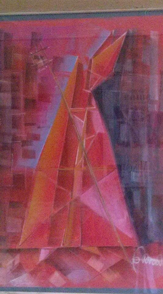 Cardinale in porpora rossa