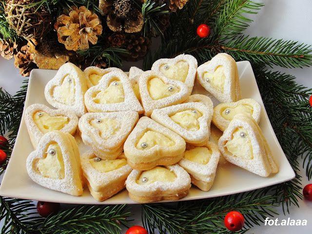 Ala piecze i gotuje: Ciasteczka z kremem karpatkowym