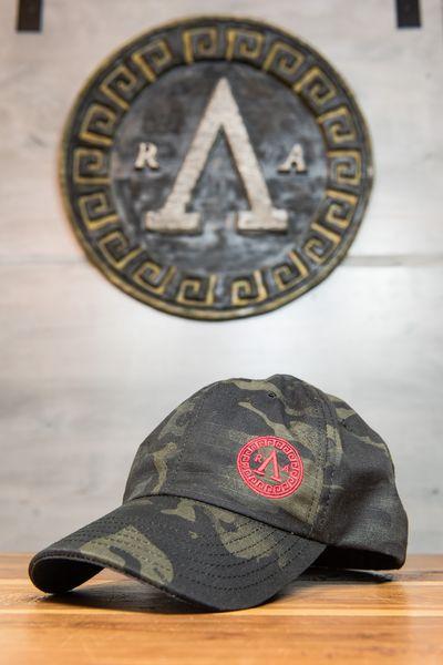 Shield Black Multicam Hat