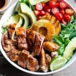 Garlic and Lime Barbecue Chicken Salad