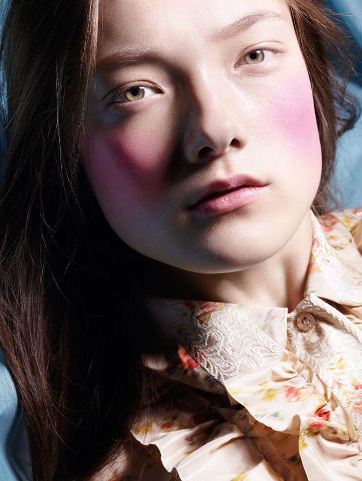 Yumi Lambert by Liz Collins for Vogue China April 2015