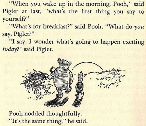 winnie the pooh quotes   Breakfast