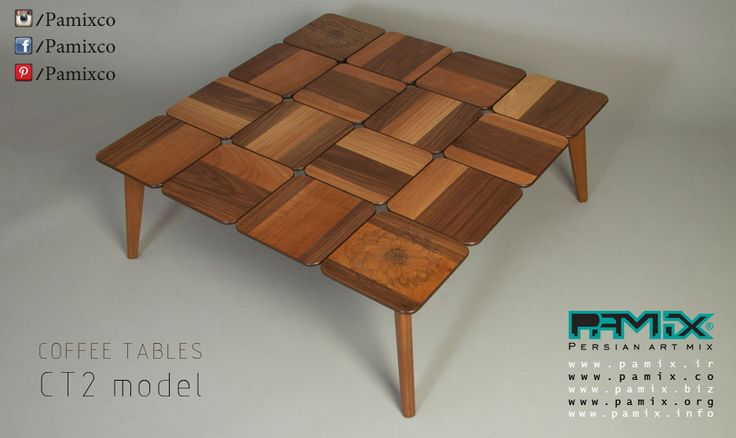 Pamix Wooden Coffee Talbe Ct2 Table Pinterest
