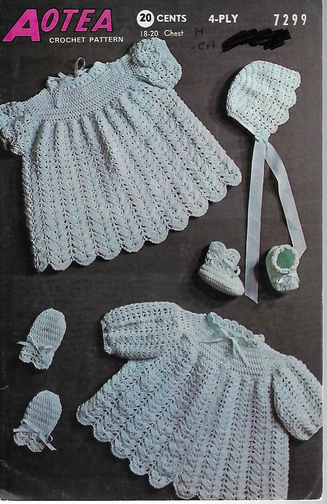 36 Best Vintage Baby Crochet Images On Pinterest