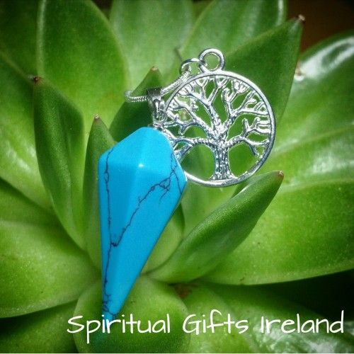 Visit our store at www.spiritualgiftsireland.com  Follow Spiritual Gifts Ireland on www.facebook.com/spiritualgiftsireland www.instagram.com/spiritualgiftsireland www.etsy.com/shop/spiritualgiftireland We are also featured on Tumblr  The blue green colours of Turquoise radiate tranquility.💙 It is a stone of self-forgiveness and self acceptance.  You are created in the image and likeness of the divine for a special reason. 💫 Don't be afraid to communicate your message.  Speak your truth…