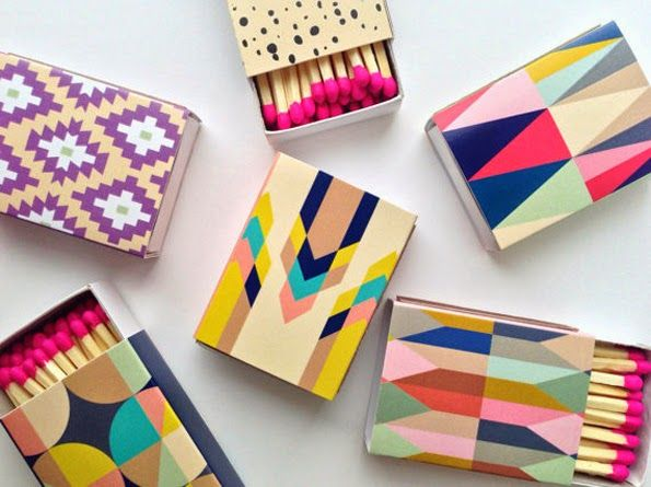 Decorative Matchboxes by BelloPop