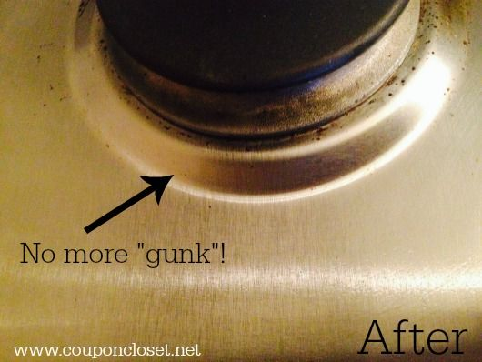 How to Clean Stove Top with one easy step! - Coupon Closet