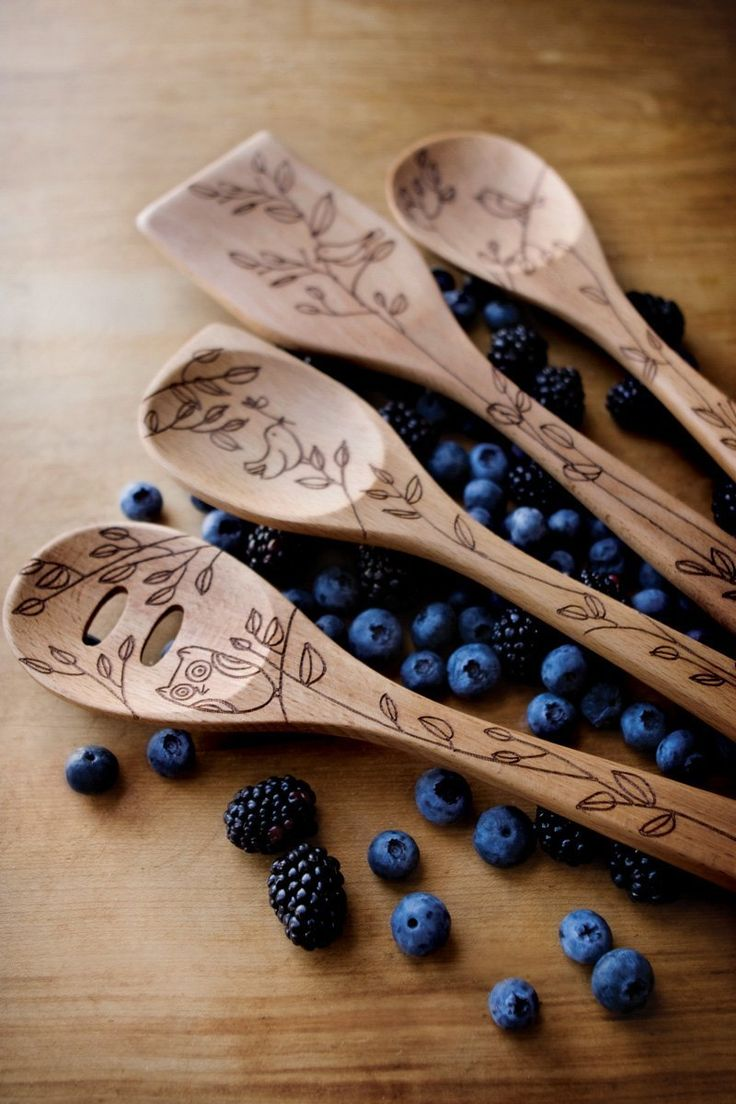 Solid Beechwood Spoon Collection Great Gifts!  $7.50 each