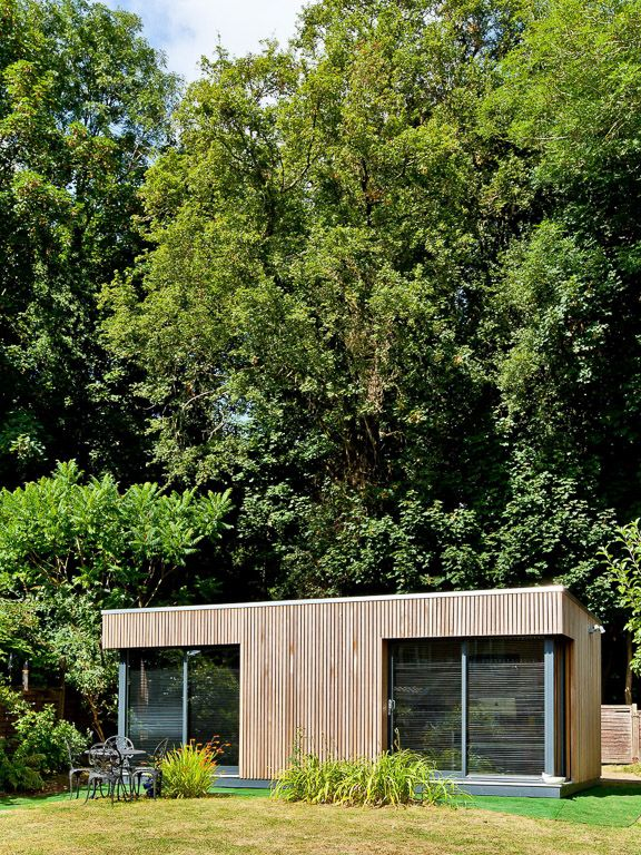 This dual aspect #officespace has given our clients an amazingly airy and bright garden #workspace to operate their consultancy from.