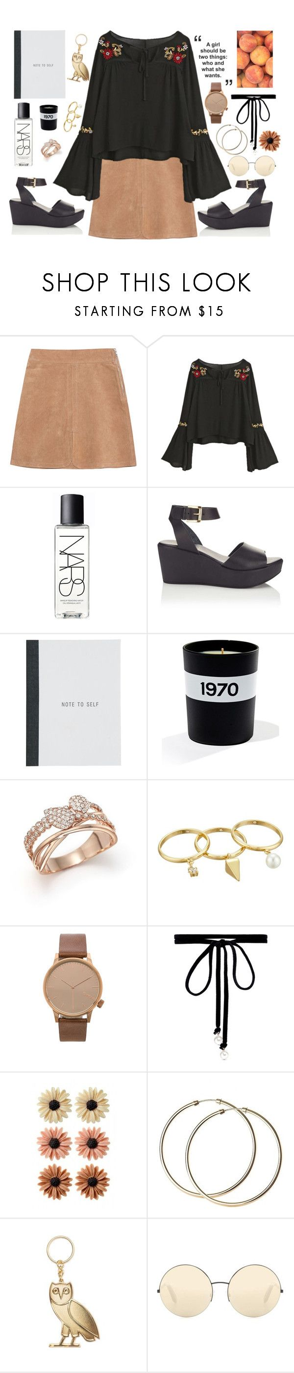 """Ashanti"" by anishagarner ❤ liked on Polyvore featuring See by Chloé, NARS Cosmetics, Miss Selfridge, Bella Freud, Bloomingdale's, Rebecca Minkoff, Komono, Joomi Lim, mae and Victoria Beckham"