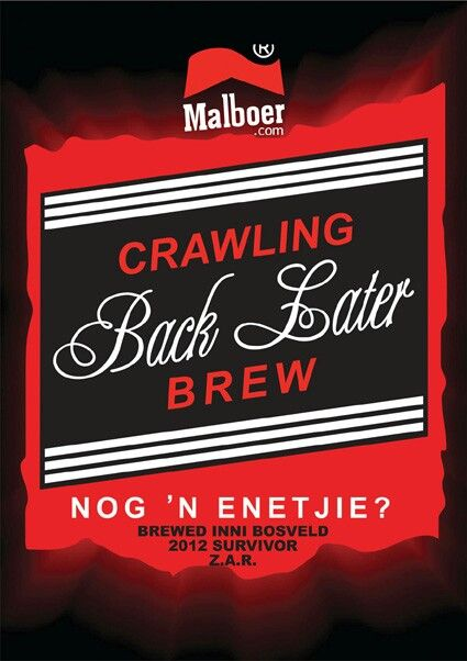 Alternatiewe ontwerpe van Malboer.com in Afrikaans.
