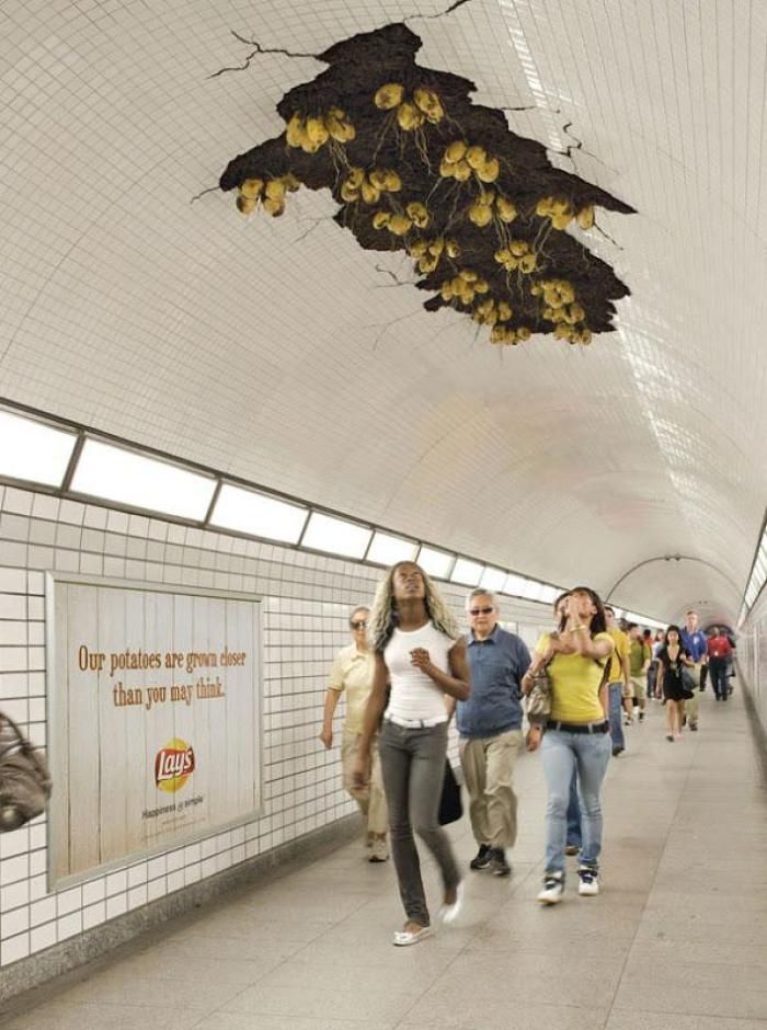 Ambient Ads: 25 of the Best You're Ever Going to See – art