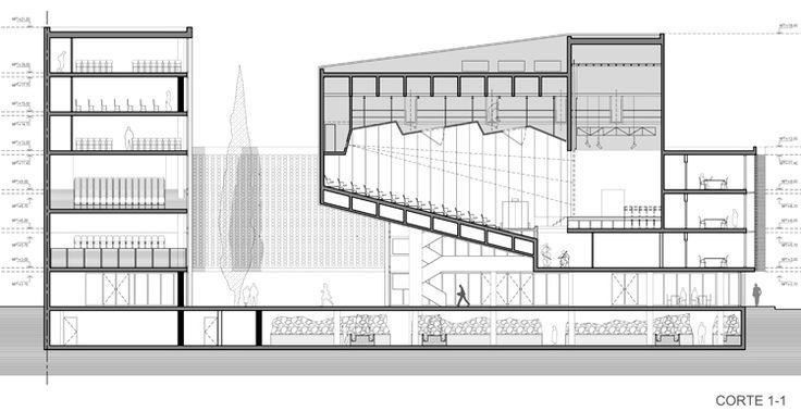 Proyecto para el Concurso Centro Cultural de la Universidad Nacional de Córdoba