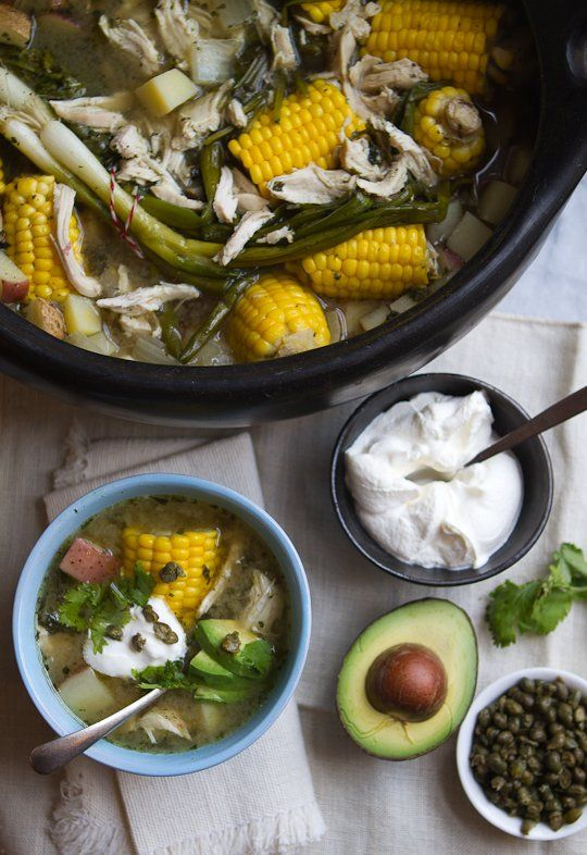 Recipe: Colombian Ajiaco (Chicken and Potato Soup) Recipes from The Kitchn