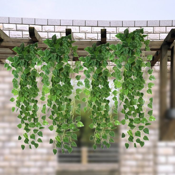 Exceptional Amazon.com   Atificial Fake Hanging Vine Plant Leaves Garland Home Garden  Wall Decoration